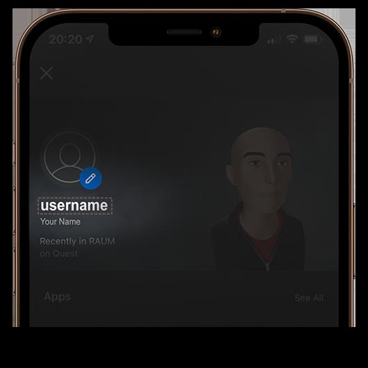 invite fade oculus username