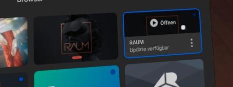 RAUM needs Update