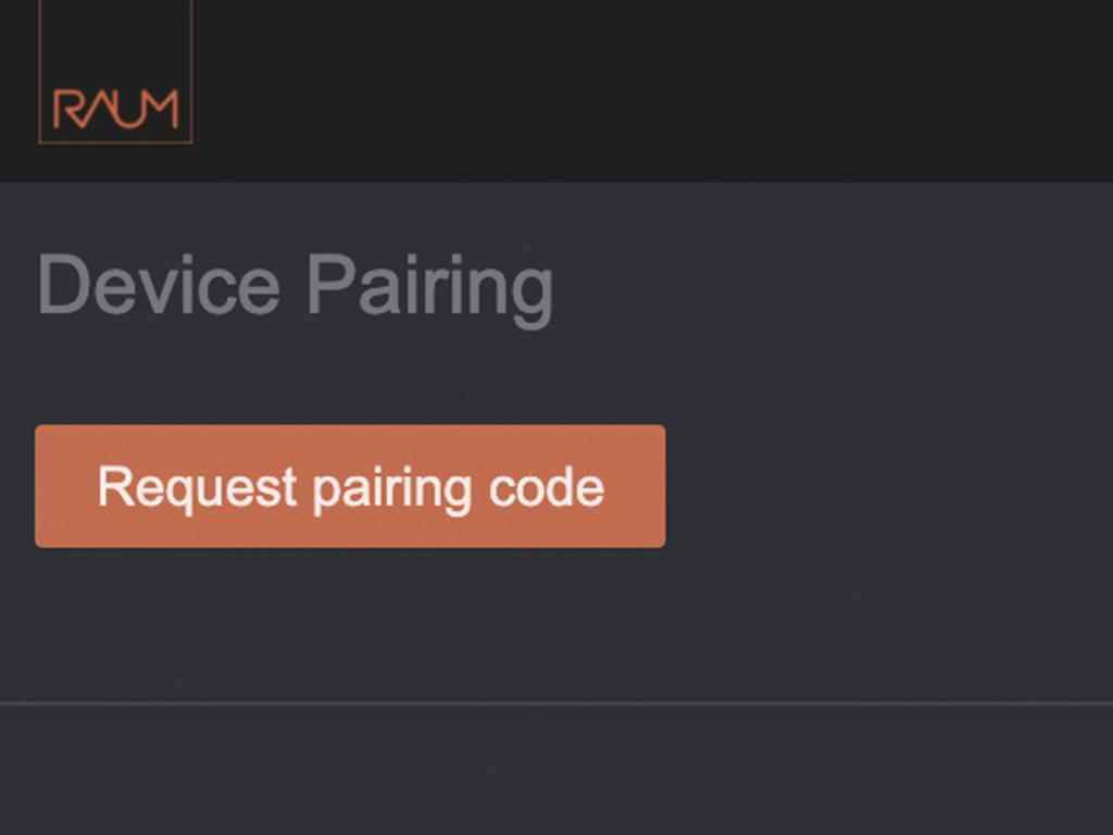 requesting pairing code
